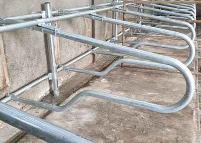 Galvanised Cow Cubicles Portglenone