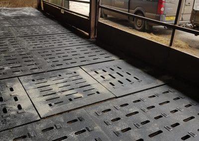 Kraiburg K easy slat rubber mats nfs