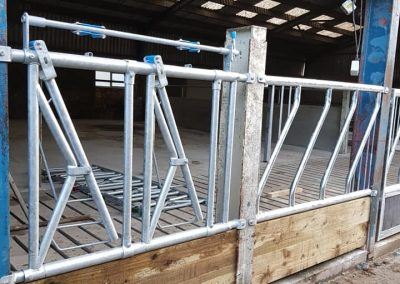 custom order cattle feed barriers