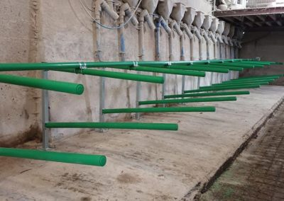 Cow Welfare FlexStall install