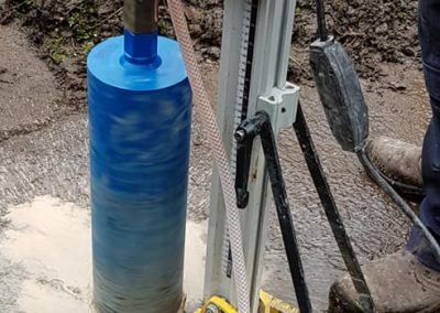 Core Drilling Home Sewage